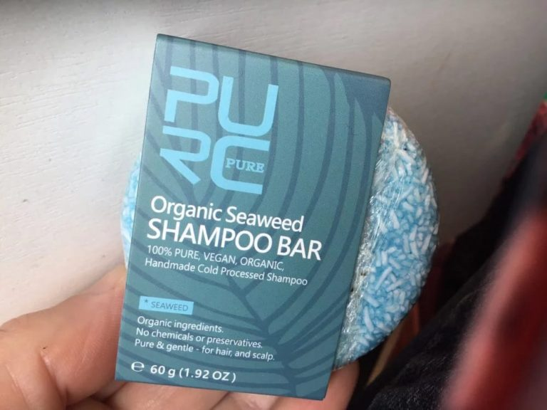 Bio Seaweed Shampoo Bar photo review