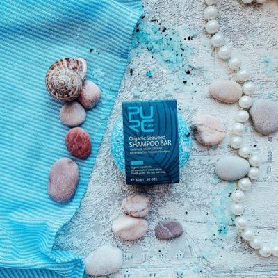 purcorganics - Bio Seaweed Shampoo Bar 01