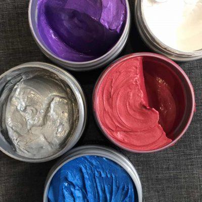 purcorganics - Gray Color Wax 2