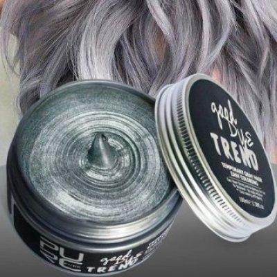 purcorganics - Gray Color Wax 6
