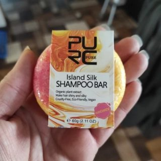 purcorganics - Island Silk shampo bar 08