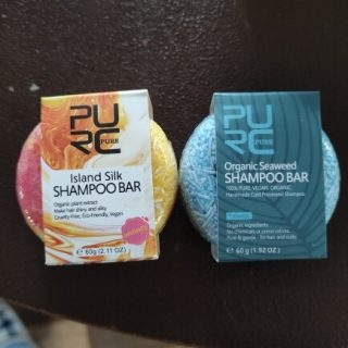purcorganics - Island Silk shampo bar 9