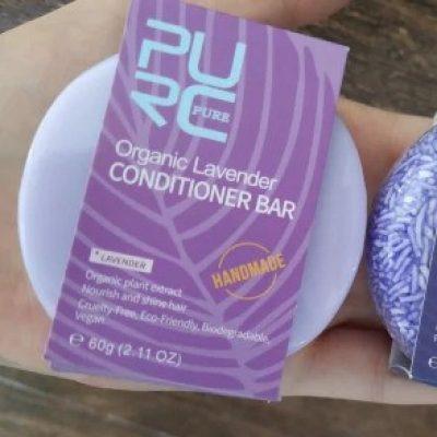 purcorganics - Lavender conditioner bar