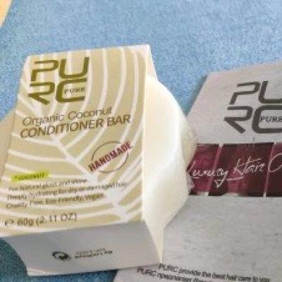 purcorganics - coconut conditioner bar 8