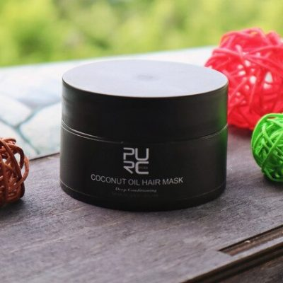 purcorganics - coconut oil hair mask 7