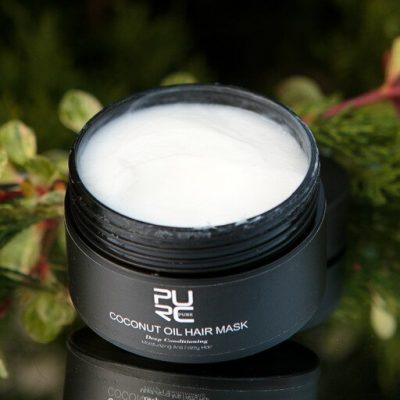purcorganics - coconut oil hair mask 9