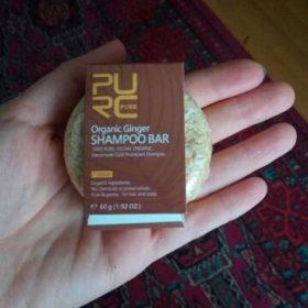 purcorganics - ginger shampoo bar 06