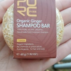purcorganics - ginger shampoo bar 9
