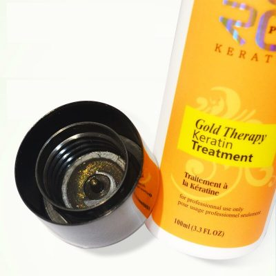 purcorganics - gold keartin therapy 01