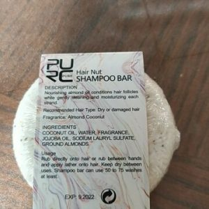 purcorganics - hair nut shampoo bar 13