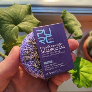 purcorganics - lavender Shampoo bar 1