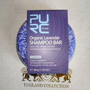 purcorganics - lavender Shampoo bar 4