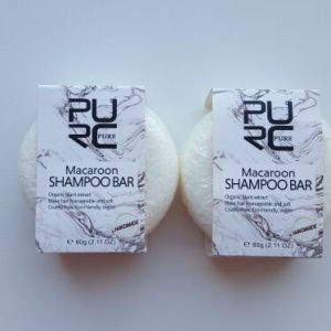 purcorganics - macaroon shampo bar 1