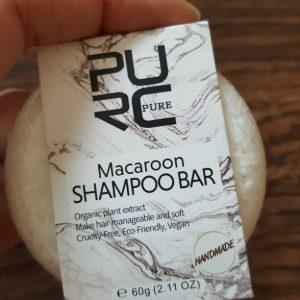 purcorganics - macaroon shampo bar 2