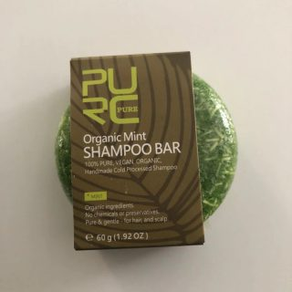 purcorganics - mint shampoo bar 2