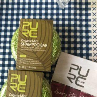 purcorganics - mint shampoo bar 5