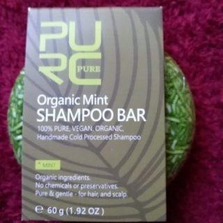 purcorganics - mint shampoo bar 6