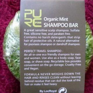 purcorganics - mint shampoo bar 7
