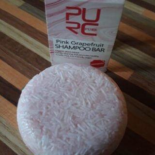 purcorganics - pink grapefruit Shampoo bar 1