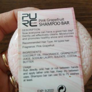 purcorganics - pink grapefruit Shampoo bar 4