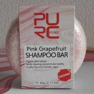 purcorganics - pink grapefruit Shampoo bar 6