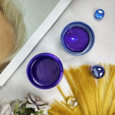 purcorganics - purple hair mask 13