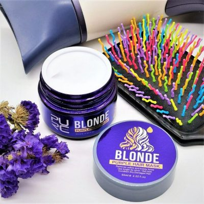 purcorganics - purple hair mask 20