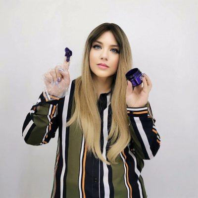 purcorganics - purple hair mask 21