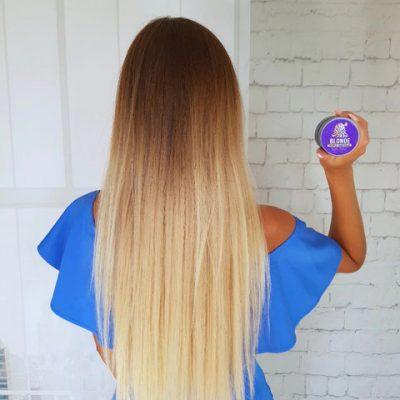 purcorganics - purple hair mask 28
